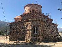 FOTOT/ Kumbaro në Përmet: Si po transformohet Kisha e Shën Mërisë!